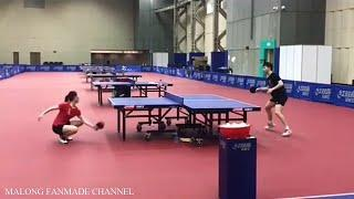 China Team National Training & Funny Moment