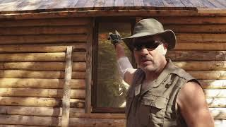 Installing Windows | How to Build a Cheap Off Grid Log Cabin, Ep2