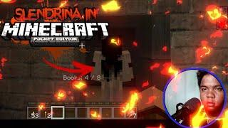 PLAYING SLENDRINA THE CELLAR IN MINECRAFT: POCKET EDITION