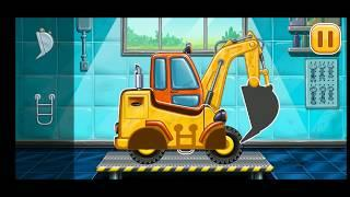 BUİLD A HOUSE GAME Truck Games for Kids - Bucket Games Construction Simulator - Android GamePlay