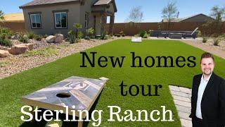 New homes for sale in Las Vegas - Century communities Sterling Ranch with casitas