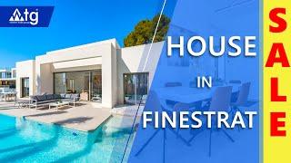 Modern New House in Finestrat, 3 bedrooms, area 140 m2. Buy house in Spain. Property in Spain
