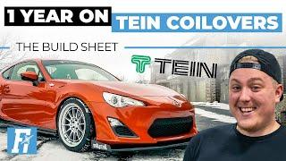 One Year On Tein Coilovers | The Build Sheet