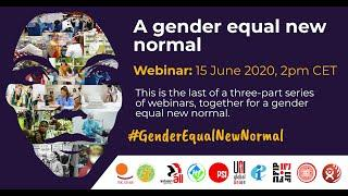 Webinar (Russian): A gender equal new normal