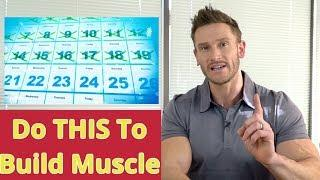 BEST Plan to Build MUSCLE with Intermittent Fasting - Complete Guide