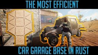 MOST EFFICIENT CAR GARAGE BASE - Truly Quick Builds