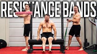 75+ Push/Pull/Legs RESISTANCE BAND Exercise Movements