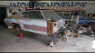 Independence Chevelle Engine Removal & Tear Down - Vice Grip Garage EP72