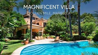 Magnificent Villa for Sale I Golden Mile, Marbella