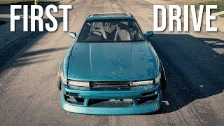 TEST DRIVING MY SLAMMED SILVIA