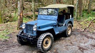 Willys Jeep roll bar