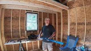Shed Build Part 5 with Tool Talk