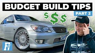 Building a Car on a Budget Part 2 | The Build Sheet