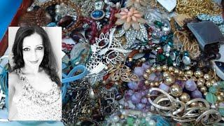 How to build a Jewelry Jar for reselling                                Vintage Goodies