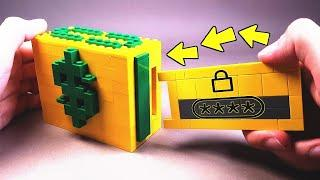 How to make LEGO Candy Machine with Safe / how to build a lego / lego safe