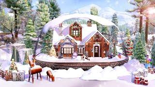 I build a SNOW GLOBE in the sims 4   THE SIMS 4 - Speed Build (NO CC)