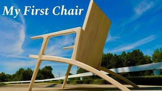 How to Make a Modern Wooden Chair - My First Wooden Lounge Chair