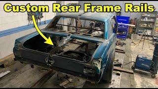 Building Rear Frame Rails For My 1966 Ford Mustang Gt 5.0 Coyote Swap