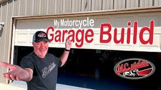 Come Tour the MCrider Motorcycle Garage & YouTuber Studio