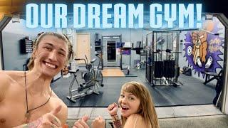 Our Dream Gym! - How to Build A Garage Gym/Home Gym That You Love to Workout In