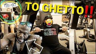BIG BOY and KALI MUSCLE are TOO GHETTO for FANCY GYM (CHEST WORKOUT)