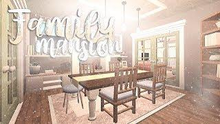 Small Family Mansion | BLOXBURG