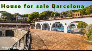 House for sale Barcelona. Real estate House for sale Costa Barcelona