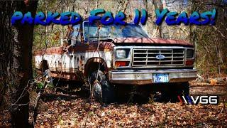 Will This FORGOTTEN Big Block Ford F250 Run and Drive After 11 Years? - Vice Grip Garage EP77