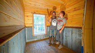 SURPRISED with TWINS! The room needed a new makeover! Off Grid / Tiny House