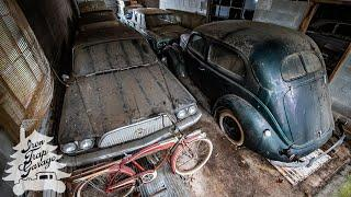 Full Tour Of The Auction Of A Lifetime - Building #2 - 1954 Corvette 1932 Ford 1934 Ford