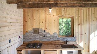 Cabin Build - Grouting and Finishing the Final Wall