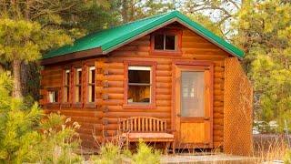 Beautiful Log Cabin - Back Yard Office - Free Delivery | Lovely Tiny House
