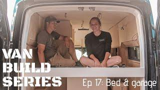 VAN BUILD SERIES |  Queen Size Bed, Bathroom, & Large Garage In A Ford Transit Campervan