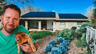 SOLAR POWERING our City Farm -- OFF GRID?!
