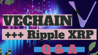Ripple XRP & Vechain News & More Questions & Answers