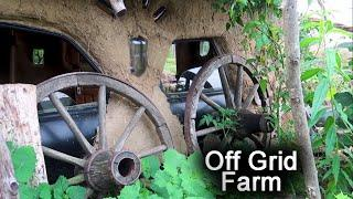 Off Grid Living | Sustainable Life | Hobbit House | Future Farm Romania