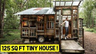 125 SQ FT Tiny House Tour! (Full Airbnb Tiny Home Tour)