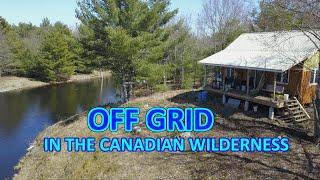 Off Grid Cabin Life in the Canadian Wilderness