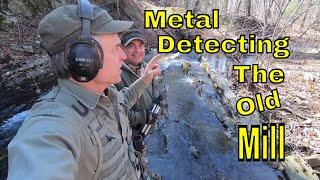 Metal Detecting The Old Mill