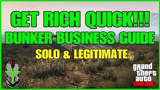 Get Rich Quick With Bunker Business in GTA Online