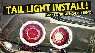 Tail Lights, Gaskets & Housings Installed 1970-1973 Camaro | Lethal Classic