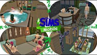 The Sims Mobile: Build A Sauna House #12