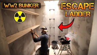 Building an ESCAPE LADDER in my WW2 Bunker (PART 6)