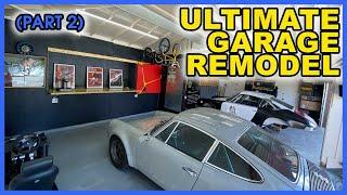 Ultimate Porsche Garage Upgrade Part 2 | My Insane Garage Remodel!