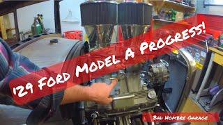 Progress!  Fuel Line and Battery Cable Install: Bad Hombre Garage Ep 38