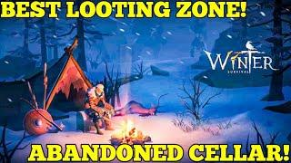 Winter Survival: The Last Zombie Shelter On Earth - Checking Out The Abandoned Cellar! (Ep 02)