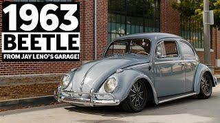 Light, Sketchy, and Gorgeous: How to Make 120hp Feel Fun. 1963 Beetle from Jay Leno's Garage