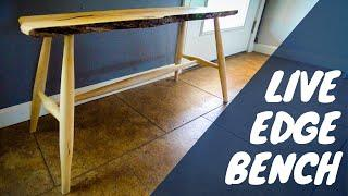 Making a Live Edge Bench