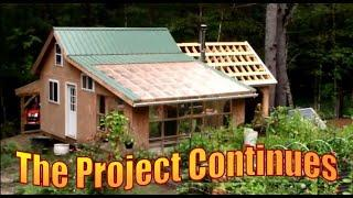 OFF GRID CABIN LIFE. Bears and Building Projects.  Vlog 76
