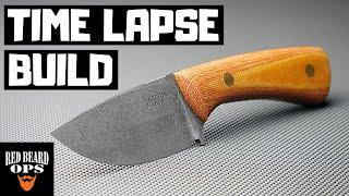 Time Lapse | Making A Simple EDC Knife | Knife Making